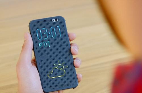 Phụ kiên mặt bảo vệ kiểu mới dành cho smartphone cao cấp vừa ra mắt của HTC.