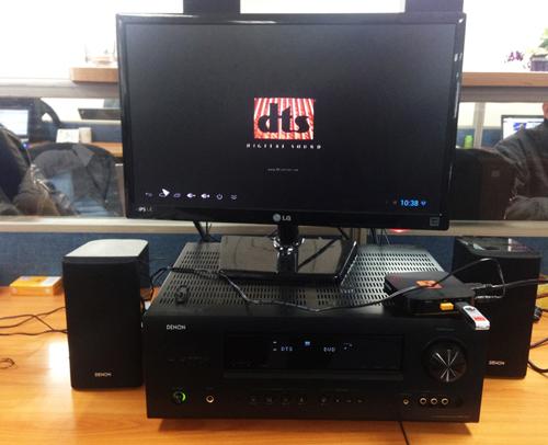 Thử nghiệm Livebox 2 vớiamply 5.1  Denon AVR -1312.