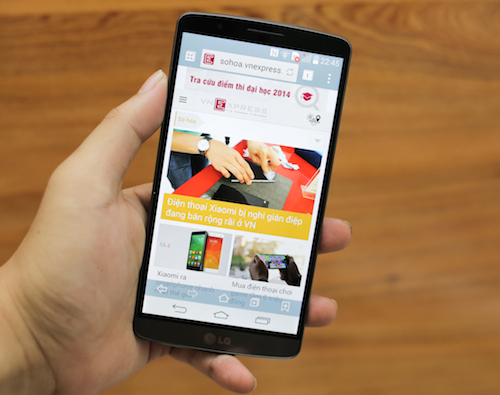Đánh giá LG G3 – sử dụng camera lấy nét bằng laser đầu tiên