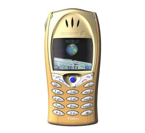 EricssonT68 ra mắt vào năm 2001.