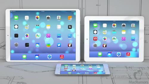 Phải tới năm sau người dùng mới được cầm trên tay chiếc iPad Pro 12,9 inch này.