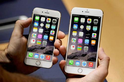 Bô đôi iPhone 6 liên tục giữ vị trí top trên bảng xếp hạng Nhật Bản.