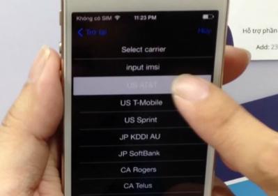 iPhone 6 xách tay về Việt Nam chủ yếu từ các nhà mạng AT&T, T-Mobile,... (Ảnh: Huy Dũng Mobile)