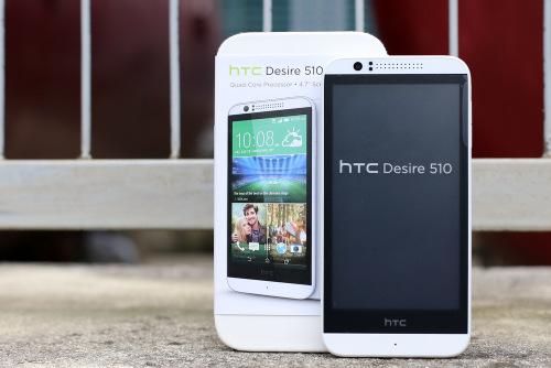 HTC Desire 510 có giá bán 4,99 triệu đồng, là smartphone đầu tiên dùng chip 64-bit của HTC.