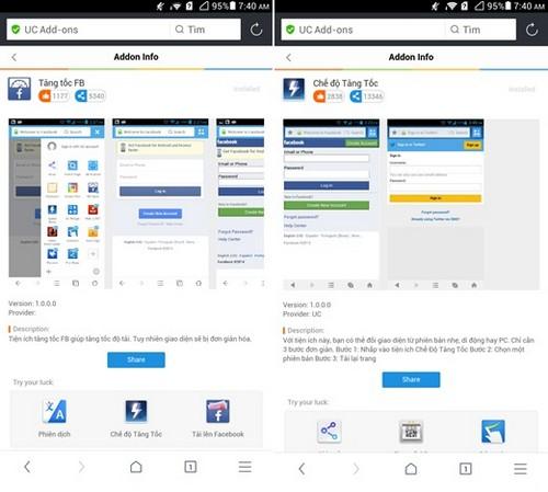 Tải ứng dụng UC Browser 10.0 mới nhất cho Android
