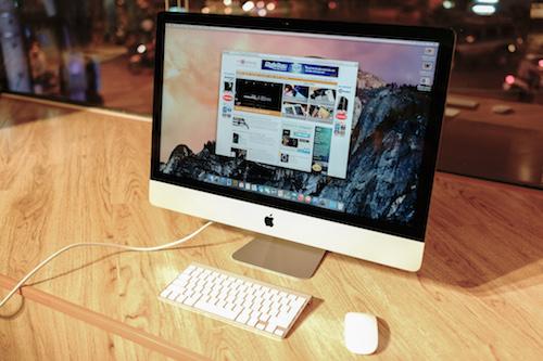 iMac Retina màn hình 27 inch.