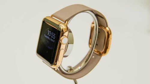 Bản mạ vàng 18K của Apple Watch sản xuất giới hạn.