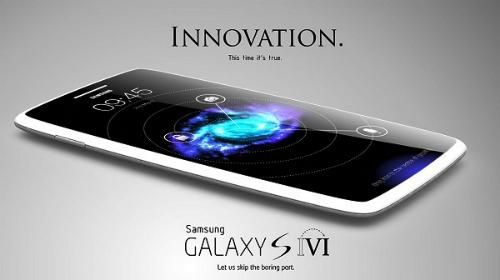 Một trong những hình ảnh đầu tiên được Samsung hé lộ về Galaxy S6.