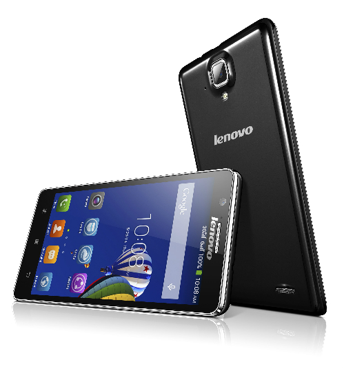 Lenovo A536 sỡ hữu màn hình lớn 5,5 inch.