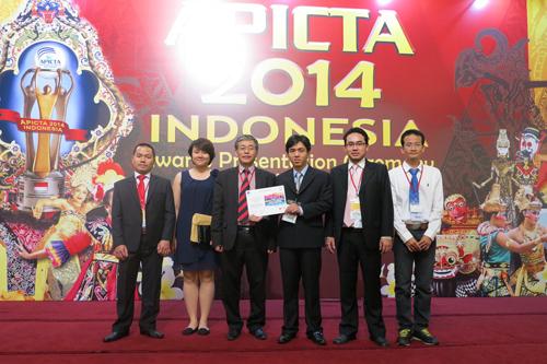 FPT IS nhận giải tạiAPICTA AWARDS 2014.