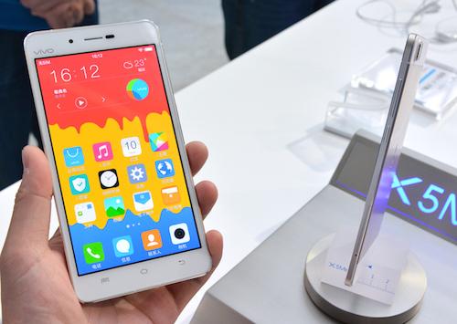 VIvo X5Max Smartphone mỏng nhất thế giới 4,75 mm