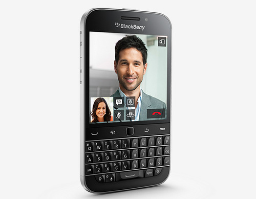 BlackBerry ra mắt smartphone Classic dáng hoài cổ