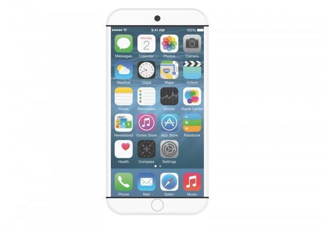 Ý tưởng iPhone 7 dùng cảm biến thay phím bấm