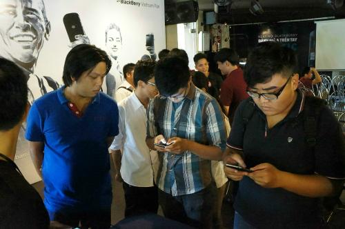 Dân công nghệ phấn khích với BlackBerry Classicpx