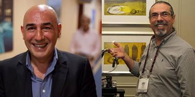 Hai nhà đồng sáng lập Tufan Hashemi và Touraj Moghaddam.