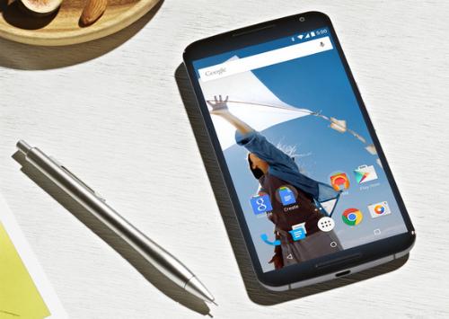 Nexus 6 với màn hình QuadHD 2K siêu nét.