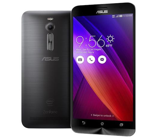Asus Zenfone 2 với RAM 4 GB, giá từ 4 triệu đồng