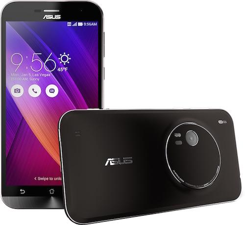 Zenfone Zoom Smartphone zoom quang học 3X mỏng nhất thế giới