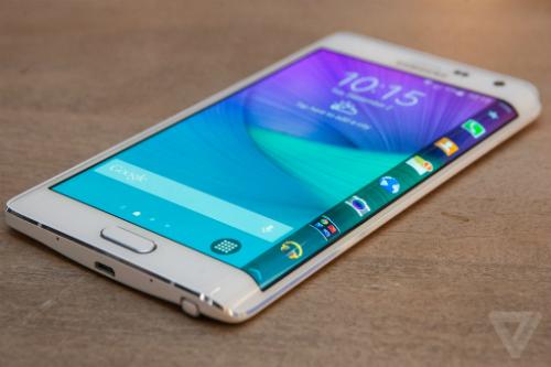 Note 4 Edge màn hình cong cũng sắp lên kệ cùng với Galaxy Core Prime giá rẻ.