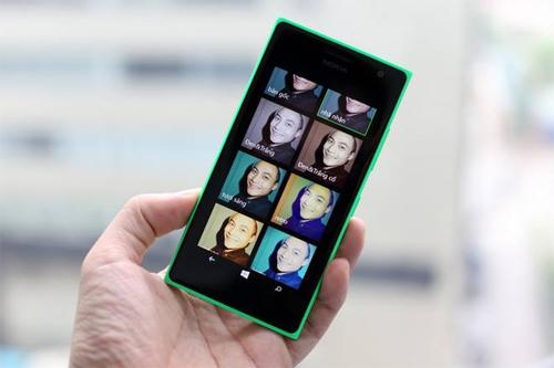 Điện thoại selfie tốt nhất: Microsoft Lumia 730
