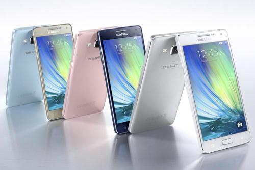 Galaxy A5 đại diện cho phong cách thiết kế mới mẻ của Samsung.