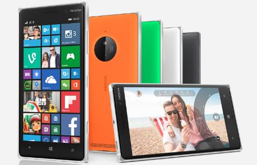 Lumia 830 với thiết kế cá tính và bắt mắt.