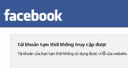 Facebook và Instagram cùng hoạt động chập chờn