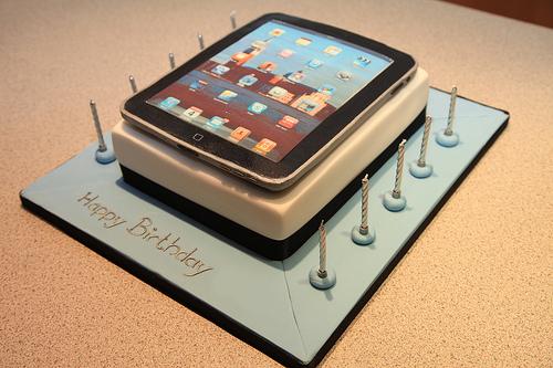 Sinh nhật 5 tuổi buồn của iPad