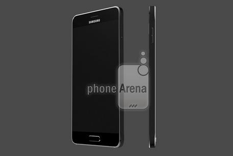 Một bản dựng dựa trên những tin đồn và hình ảnh rò rỉ về Samsung Galaxy S6.