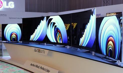 TV OLED 4K siêu mỏng 2015 của LG có giá từ 100 triệu đồng