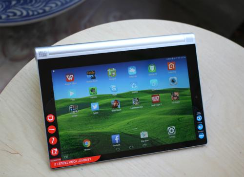 Đánh giá máy tính bảng pin tốt - Yoga Tablet 2