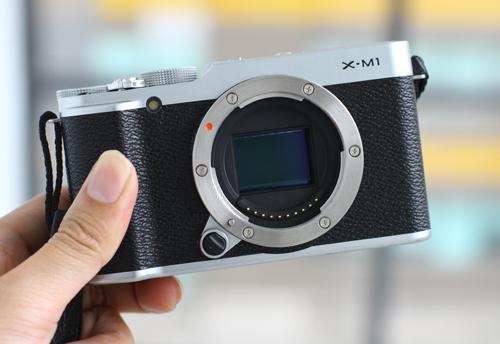 Fujifilm X-M1.