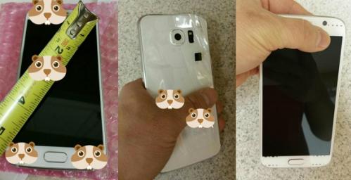 Một mẫu smartphone Galaxy S6 chưa chính thức.