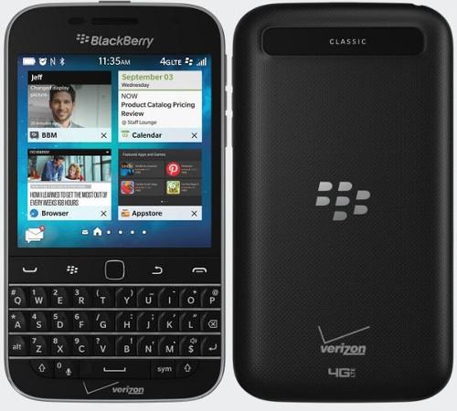 BlackBerry Classic 4602 1425008682 BlackBerry Classic thêm bản không camera, rẻ hơn 50 USD