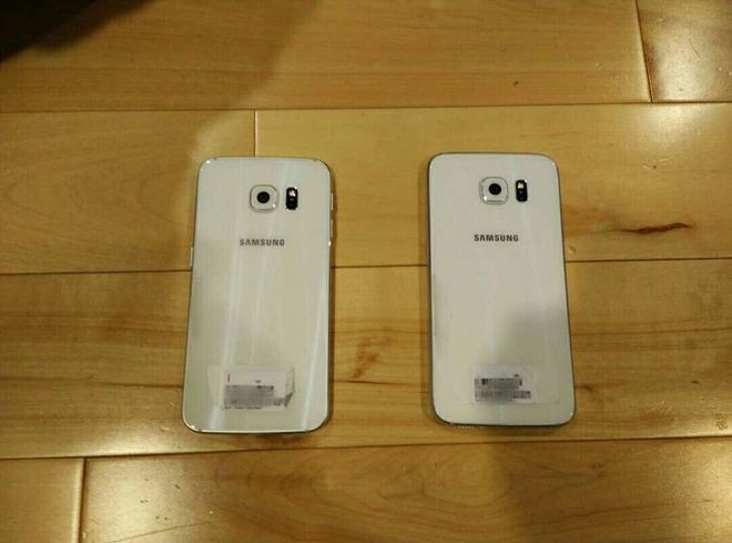 Galaxy S6 Edge màn hình cong hai cạnh rõ nét