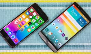 iPhone 6, LG G3 được nhà mạng bình chọn smartphone tốt nhất