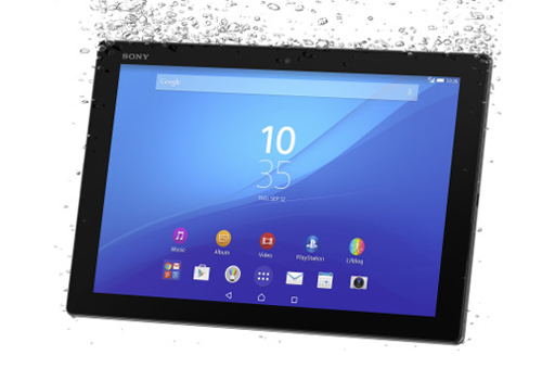 Sony Xperia Z4 Tablet.