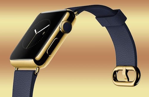 Gold Apple Watch 7906 1426171767 Jonathan Ive phải đấu tranh để Apple bán đồng hồ 10.000 USD