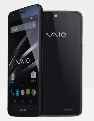 Smartphone Vaio lần đầu tiên ra mắt trình làng