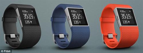 Sản phẩm Fitbit Surge.