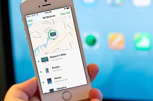 find my iphone1 6822 1427365409 Tìm được ôtô bị trộm nhờ tính năng định vị trên iPad