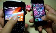 Mua BlackBerry 9900 hay iPhone 4S?