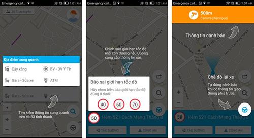 Goong sử dụng dữ liệu được cung cấp bởi cộng động người dùng, có chọn lọc.