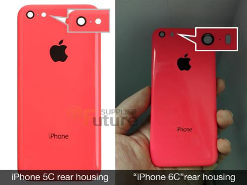 Hình ảnh bộ vỏ nhựa được cho là của iPhone 6C vừa xuất hiện trên Internet.