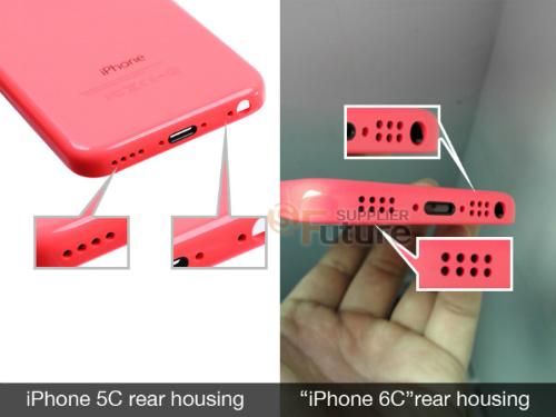 Một số thay đổi về loa, micrphone và đèn Flash trên bộ vỏ của mẫu iPhone mới.