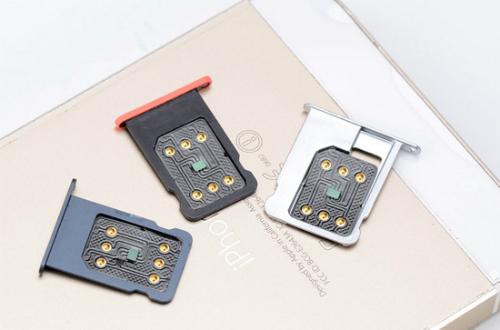 iPhone lock (khoá mạng) cần đến SIM ghép để sử dụng và còn những lỗi nhỏ.