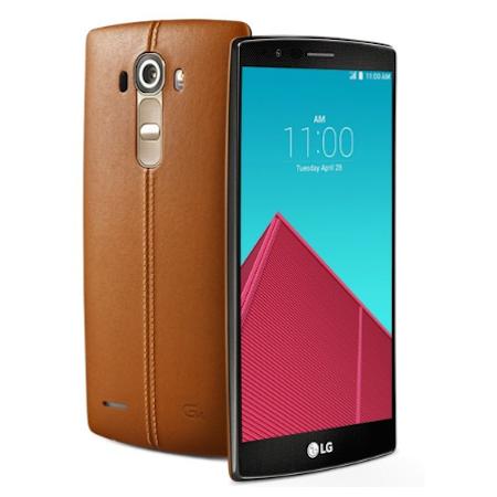 LG G4 lộ ảnh chi tiết với mặt sau vỏ da