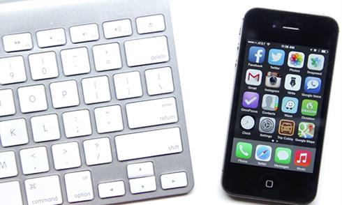 Tăng hiệu suất làm việc với iPhone