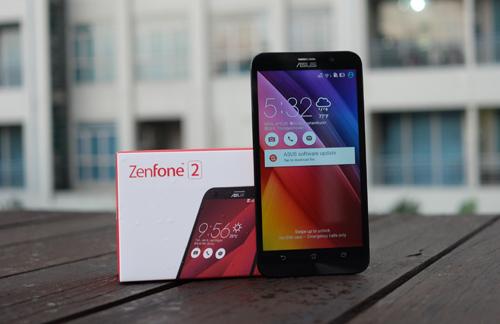 Zenfone 2 có 4 phiên bản, giá chính hãng từ 4,6 triệu đồng