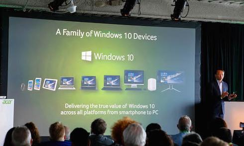 Laptop Acer Aspire R11 có màn hình xoay 360 độ
